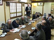 上小支部の総会が開催されました