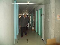 昭和38年3月卒業生が、学校見学しました