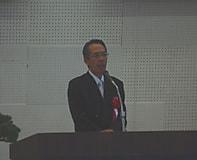 平成30年度入学式で会長祝辞