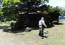 富士里付属農場記念碑
