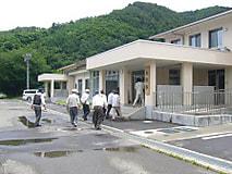 昭和33年3月卒業生のキャンパス視察が行われました。