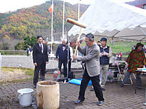 長野南支部餅つき開催