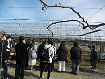 農業経営コース1年生が産地視察研修会に出かけました