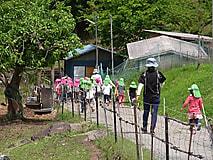 寺尾保育園の園児の皆さんが来校しました