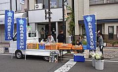 ながの軽トラ市in篠ノ井に栽培部が参加しました