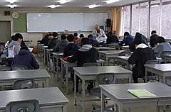 冬季休暇明けの授業が始まりました