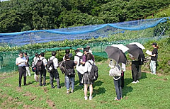 農業大学校オープンキャンパスに108名参加