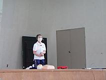 救命救急法(AED)の講習会を開催しました