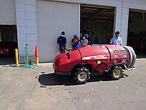 実践経営者コース1年生が農業機械(果樹)の演習を行いました。