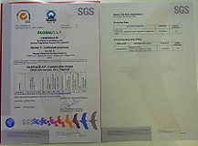 GLOBAL G.A.Pの認証を取得しました