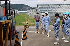 農業機械Ⅶ実習が行われました。