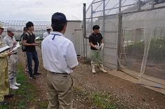 実践経営者コース2年の農業経営実習中間検討会がありました その1