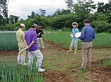 実践経営者コース2年の農業経営実習中間検討会がありました その2