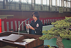 平成29年度総合農学科卒業式
